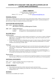 high school student part time jobs 10 first job resume for high school students resumes word intended
