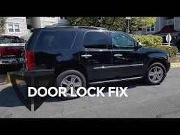 vote no on auto repair power door lock troubleshooting 2006 2014 tahoe power door lock actuator fix and replacement suburban escalade yukon gm truck