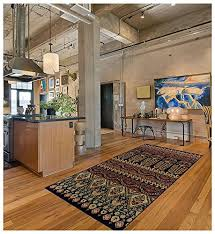 superior adena collection 5 x 8 area rug attractive rug with jute backing durable