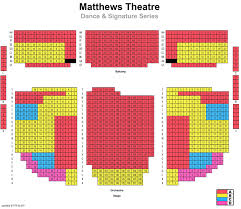 Matthews Theatre Seating Chart 42 Curious Mccarter Theater Seating Chart