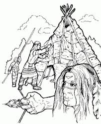 Small Picture 254 best Indianer images on Pinterest Drawings Coloring sheets