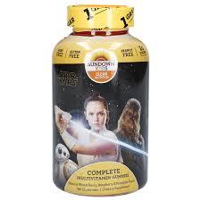 Sundown <b>Kids Complete Multi</b> Star Wars Gummy, 180 ct Children's ...