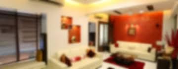 basant park chembur modern living room by aesthetica