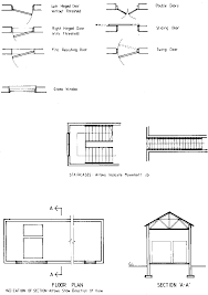 Blueprint U2013 The Meaning Of Symbols  WW References  Pinterest Architectural Floor Plan Door Symbols