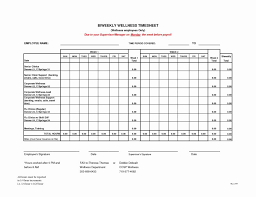 Printable Time Sheets Weekly Free Timesheet Template
