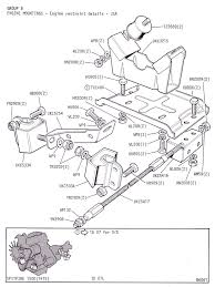 engine mountings engine restraint details usa canley classics ordering info