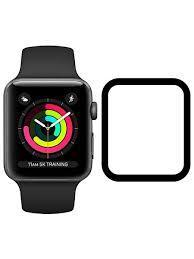 <b>Стекло защитное</b> гибридное <b>Krutoff для</b> Apple Watch 1/2/3 (38mm ...
