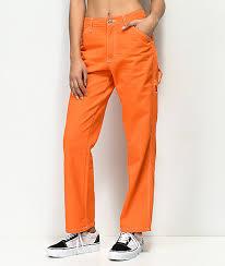 Dickies Orange Carpenter Pants