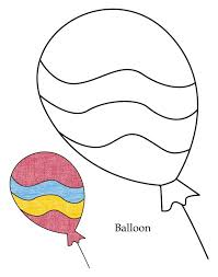 Small Picture 0 Level balloon coloring page Download Free 0 Level balloon