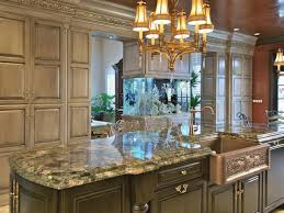 elegant cabinets lighting kitchen. Charming Hanging Lamps Over Granite Porcelain Countertops With Dark Brown Kitchen And Gold Cabinet Knobs Elegant Cabinets Lighting T
