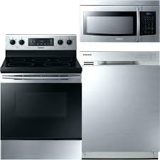 stainless kitchen appliance set steel package sears t32