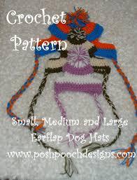 Crochet Dog Hat Pattern Magnificent Posh Pooch Designs Dog Clothes Big Dogs Crochet Patterns