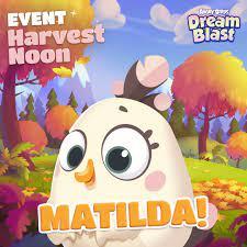 Meet MATILDA in #AngryBirdsDreamBlast!... - Angry Birds Dream Blast