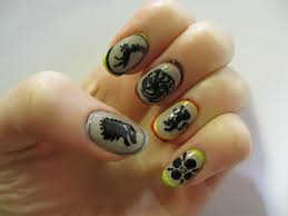 Finger Nail Art Designs Simple Nail Design Ideas 56255. Polished ...