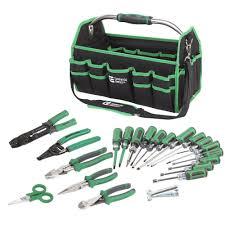 22 piece electrician s tool set