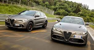 Uk Buyers Can Now Order Alfa Romeo S Giulia And Stelvio Qv Nring Models Carscoops Alfa Romeo Stelvio Alfa Romeo Sports Cars Luxury