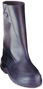 Tingley Rubber 10 Inch 1400 Rubber Overshoe With Button Boot Black Xxx Large