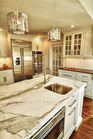 Finished Kitchens With White Granite
