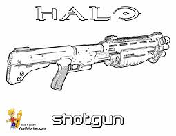 Small Picture Halo 3 Coloring Pages