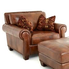 light brown leather accent chair with tribal throw pillows and ottoman l club red chairs for