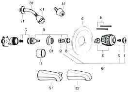moen single handle shower cartridge one handle bathroom faucet cartridge replacement