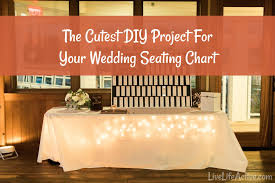 The Cutest Wedding Place Cards Idea Diy Seating Chart