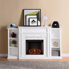 furniture electric fireplace bookcase lovely harper blvd oxley white bookcase electric fireplace free