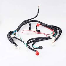 amazon com chinese atv utv quad 4 wheeler electrics wiring harness 50Cc Chinese ATV Wiring Diagram chinese atv utv quad 4 wheeler electrics wiring harness 50cc 70cc 90cc 110cc