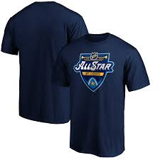 <b>Men's</b> Fanatics <b>Branded</b> Navy 2020 NHL All-<b>Star</b> Game <b>T</b>-<b>Shirt</b>