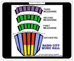 Radio City Music Seating Chart Lemaire Blog Radio City Music Hall Seating Chart