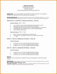 11 Job Resume Examples Cinema Resume