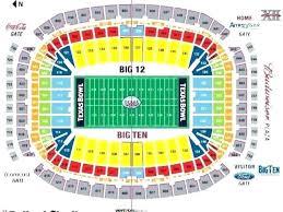 Houston Reliant Stadium Seating Chart Abundant Nrg Stadium Seating Chart With Seat Numbers Disney