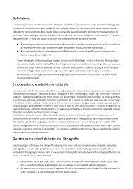 Antropologia Appunti 10 L 16 Studocu