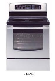 electric range top. Picture Of Recalled LRE30451 Electric Range Top C