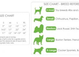 Dog Sweater Size Chart By Breed Best Picture Of Chart