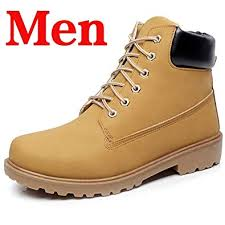 Perfectme Shoes Winter Men Boots PU Outdoor ... - Amazon.com