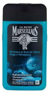 Купить <b>Гель</b>-<b>шампунь</b> для душа мужской Le Petit Marseillais <b>Кедр</b> ...