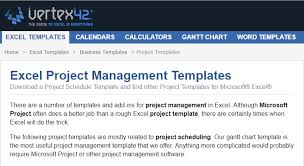 microsoft excel project management templates excel templates for project managers