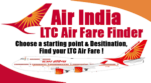 Air India Ltc Air Fare Finder Govtstaffnews