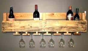 wood wine glass rack wooden holder dimensions under cabinet wood wine glass rack
