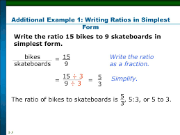 ratios in fraction form ratio ppt video online download