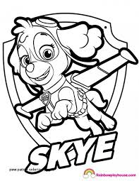 Skye Paw Patrol Coloring Pages Best Of 22 New Skye Coloring Pages
