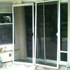 custom exterior sliding glass doors screen door for sliding glass door decor of patio screen doors