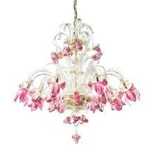 pink light fixture 8 lights pink flowers glass chandelier pink hanging light fixture pink light
