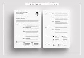 Clean With Cover Letter Resume Template 66166
