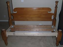 Bench Out Of Headboard Simply Mommy Head Footboard Bench Tutorial