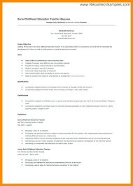 preschool resume samples resume examples for preschool teachers military bralicious co