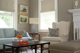 I love the color of the walls in this room. It is very warm and soothing to  the eye. Does this cross between a tan and a gray paint color have a ...