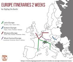 2 weeks in europe itinerary by train