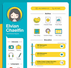 Modern Resume Infographics Create An Infographic Resume And Get Hired 10 Inspiring